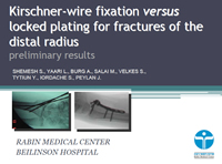 Kirschner-Wire Fixation versus Locked Plating for Fractures of the Distal Radius