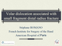 Fracture of the Volar Margin of the Distal Radius with Secondary Proximal Instability: A new entity? Study of 5 Cases