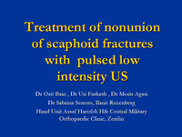 The Healing Effect of LIP US Treatment on Scaphoid Nonunion